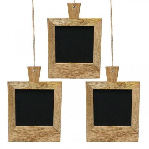 Mini ripustettava koriste taulun luonto 9×13cm 3kpl