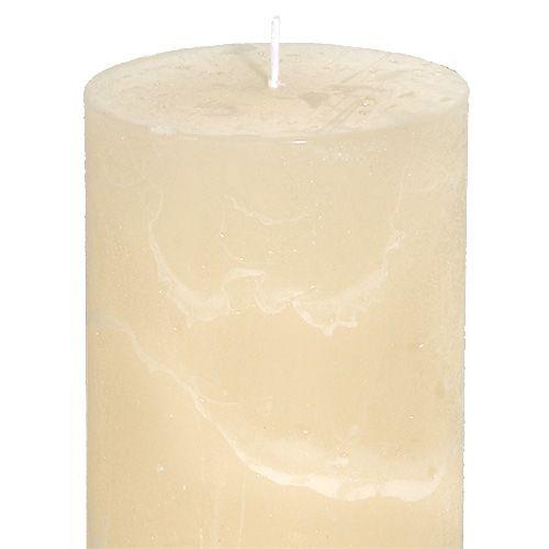Kynttilä Cream 60mm x 140mm 8kpl