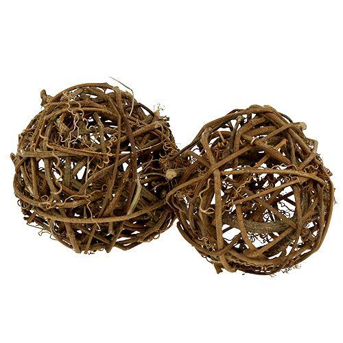 Viiniköynnöksen pallo Ø10cm 10kpl