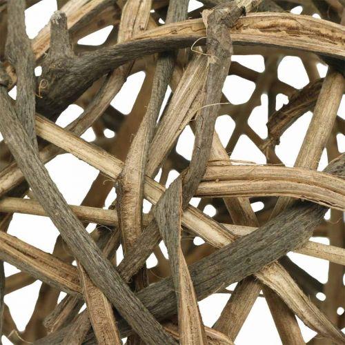 Deco Ball Vine Wood Luonnollinen Ø15cm