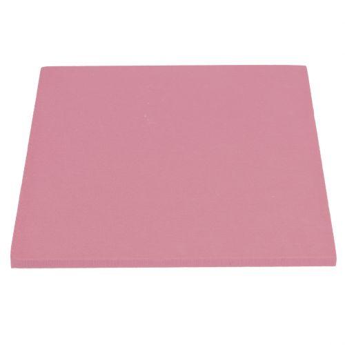 Kukka vaahtomuovisuunnittelupaneelit, laajennuskoko vanha vaaleanpunainen 34,5 cm × 34,5 cm 3 kpl