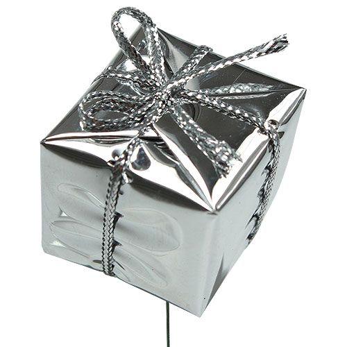 Pakkaus hopealangasta 2,5 cm 60 kpl