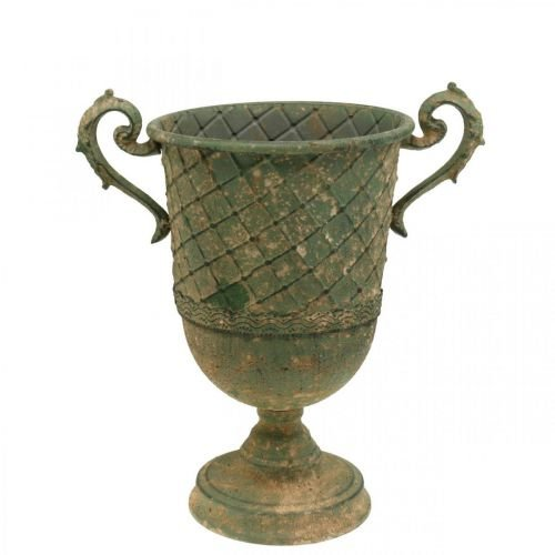 Istutuskuppi, koristeellinen kuppi, amfora istutukseen Ø18,5cm K31,5cm