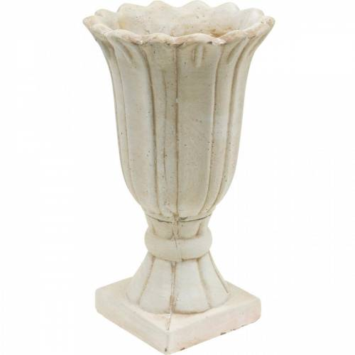 Istutusastia, kuppi tulppaani, koristeellinen kuppi, amfora istutukseen Ø14,5cm K25,5cm