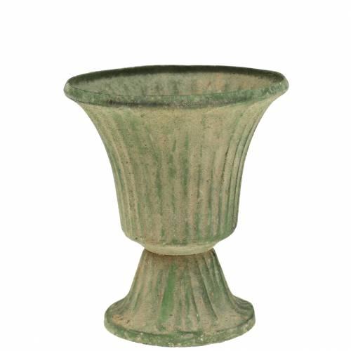 Kuppi antiikkivihreä Ø9cm K10cm