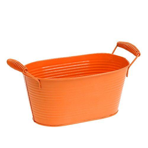 Kulho soikea oranssi 20cm x 12cm K9cm