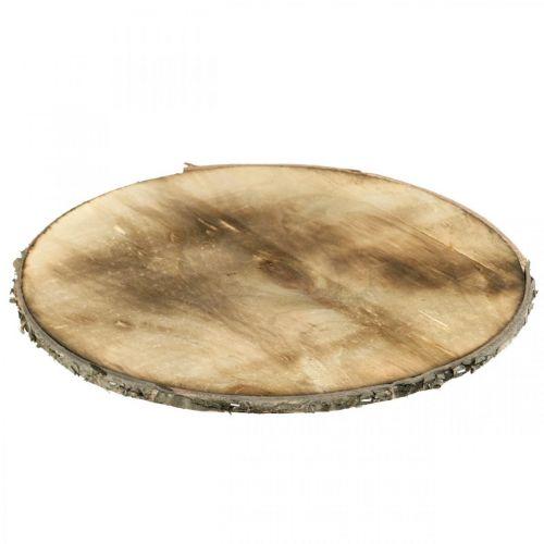 Deco puinen kiekko liekitetty vaneri Ø25cm Rustic vaneri