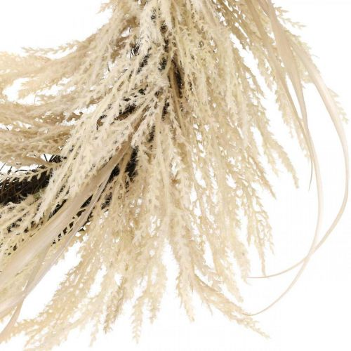 Deco seppele Pampas ruoho ja ruoko keinotekoinen Cream 70cm