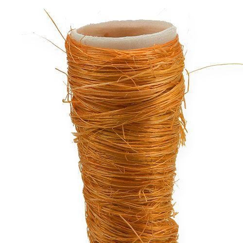 Sisal terävä maljakko oranssi Ø1,5 cm L15 cm 20 kpl