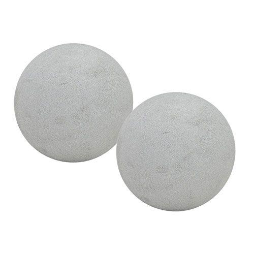 Tulppaava vaahtomuovipallo Tulppaava massapallo Harmaa Ø12cm 6kpl