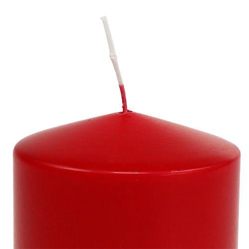 Pilarikynttilä 100/100 punainen 4kpl