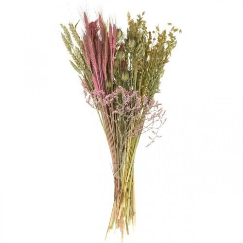 Kuivatut kukat DIY-sarja kukkakimppuihin vaaleanpunainen kuivattu kukkatekniikka 60cm