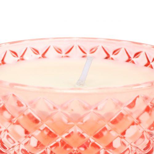Tuoksukynttilä lasissa Trooppinen Ø10cm