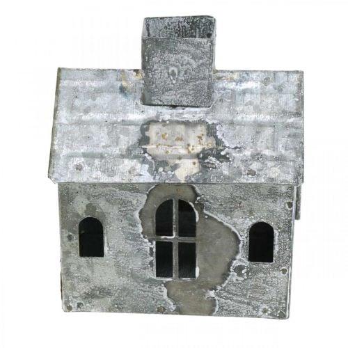 Lyhty House Metalli Shabby Chic pesty valkoinen, ruoste H11cm