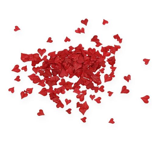 Ripottele koristehertsiä punaisella 5-8mm 1000p