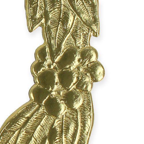 Vuosipäivänumerot 24cm kultaa